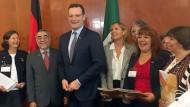 War gerade in Mexiko auf Anwerbe-Reise: Gesundheitsminister Jens Spahn (CDU)