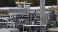 Fracking-Anlage in Pennsylvania: Die Schieferölproduzenten spielen am amerikanischen Markt für Hochzinsanleihen eine große Rolle.