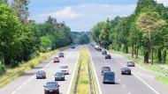 Blick auf die Bundesstraße B5 in Brandenburg