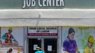 In der Corona-Pandemie konnten einem auch die geschlossenen Jobcenter nicht weiterhelfen.