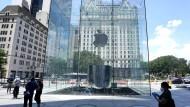 Apple in New York: Im Heimatmarkt will der Konzern mehr als bisher investieren.
