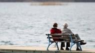 Rentner am Wasser