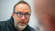 Wikipedia-Gründer Jimmy Wales auf der DLD in München