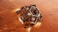 China und die Emirate haben ihre ersten Marssonden ans Ziel gebracht. Jetzt ist die Nasa am Zug