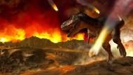 Warum die Dinosaurier am Ende der Kreidezeit ausstarben, ist noch immer nicht lückenlos geklärt.