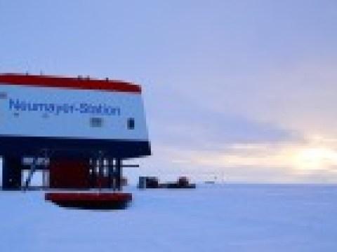 Auf der deutschen Antarktisstation ist es gerade besonders komfortabel