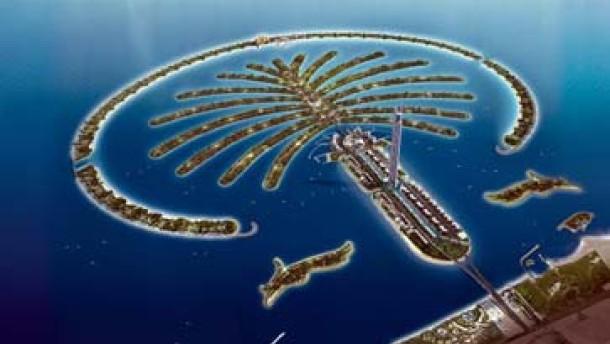 Immobilien Dubais knstliche Palmeninseln locken Kufer