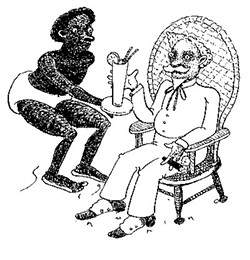 Back in the 1800s, were there any black slave owners