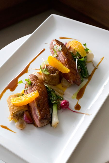 Featured Dish Modern Duck a lOrange at Lumiere  Eat My