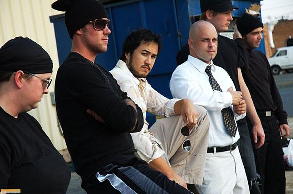 Cast of COTU's Fight Club. (Photo courtesy of COTU)