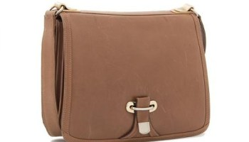 A Gucci leather purse estimated to sell for $100 to $200, at Leslie Hindman Auctioneers next week