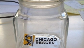 Actual jar that was dusted for prints
