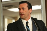 Don Draper, looking concerned