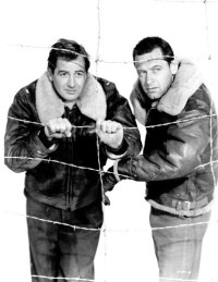 Don Taylor and William Holden in Stalag 17