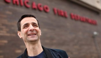 Firefighter alderman Nick Sposato supported the unions donation to Mayor Emanuel.