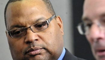 Former Alderman Isaac Carothers, who served a federal prison term on corruption charges, is asking voters to send him to the Cook County board.