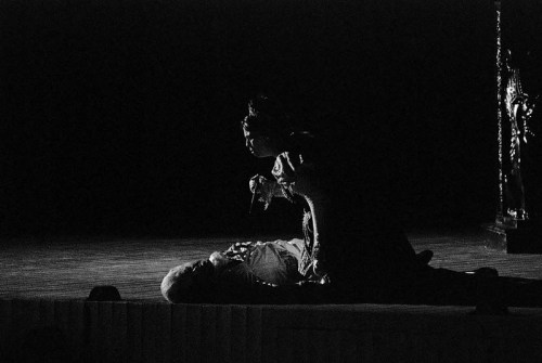 From a 2008 performance of Puccinis Tosca at the Sferisterio in Macerata, Italy