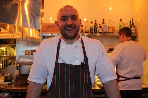 Jake Bickelhaupt of freshly-minted Michelin two-star 42 Grams