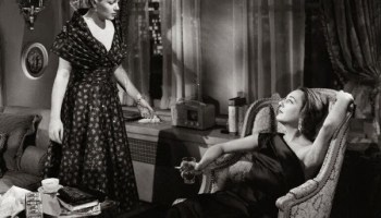 Lana Turner (left) in A Life of Her Own, a likely influence on Roommates
