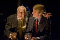 Larry Yandos Scrooge--er, Roy Cohn, explains it all to his disciple in Angels in America