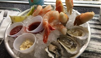 Marianos oyster bar lunch special (for two)