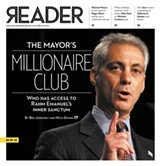 [Reader issue cover, October 27, 2011: the Mayor's Millionaire Club]