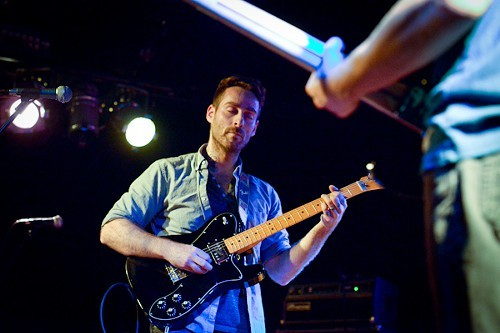 Mike Kinsella in a trance