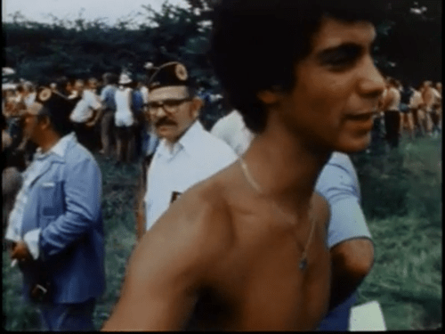 """Rahm, still shirtless, in <i></img>Marquette Park II"""" title=""""Rahm, still shirtless, in Marquette Park II"""" width=""""500″ height=""""375″ /></div></p><aside><amp-analytics> <script type="""