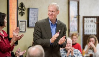 Republican Bruce Rauner wants your vote for governor—or else.