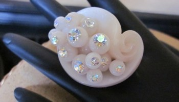 Ring by Jen Cook of Juxtapose Jewelry, wholl be at Cerato Boutique this weekend