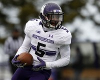 Running back Venric Mark and his Northwestern teammates can win the Big Ten this season. Right? Maybe? Please?
