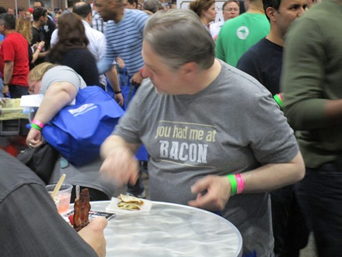 The Baconfest look