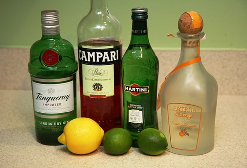 The limes are purely decorative
