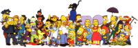 The Simpsons, live and in action
