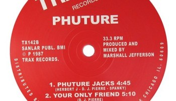 The b side of Phutures breakout single, Acid Tracks