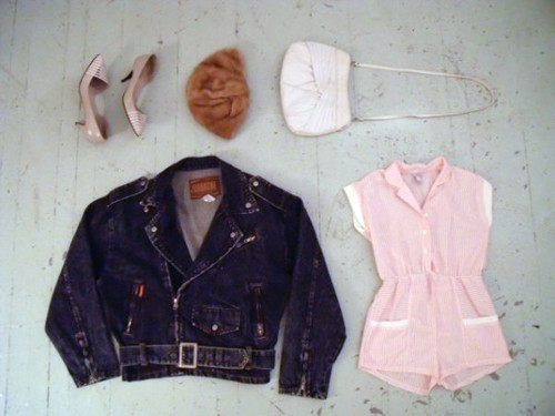 Vintage items from the Sometimes Store, one of the hosts of this weekends Maximalism fashion show.