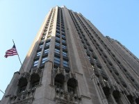 Whats up inside Tribune Tower?