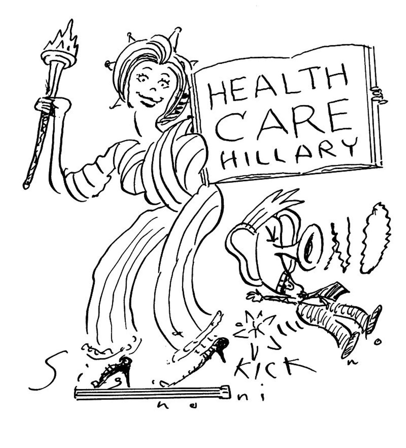 Seriously—why do so many people dislike Hillary Clinton