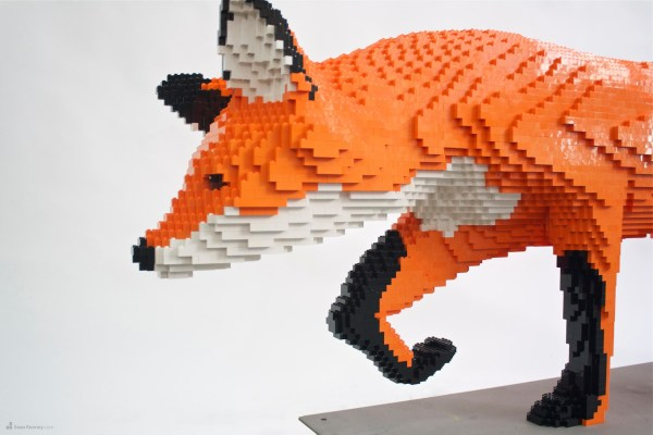 Lego Lovers Building And Plan Enter Mac' Sculpture Contest
