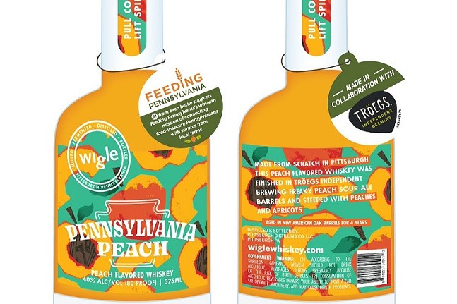 Wigle Whiskey and Tröegs Independent Brewing Pennsylvania Peach Whiskey-Images from WIGLE WHISKEY