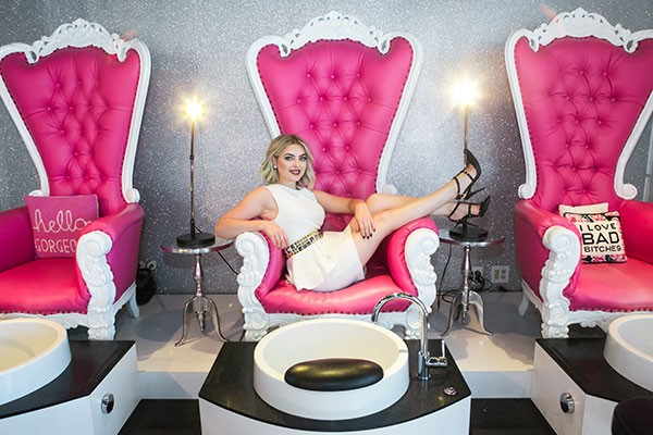 Dallas Sauers Owner Of Your Choice For Best Nail Salon Beauty Lounge