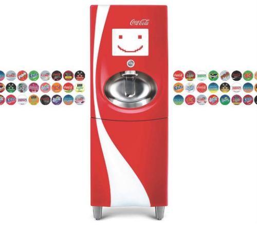 Coke Pepsi Introduce Futuristic New Soda Fountains And