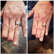 hyper-realistic fingernail