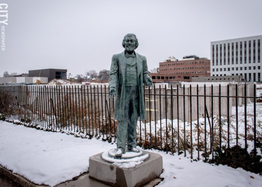 Frederick Douglass statue damaged; police arrest two | News ...