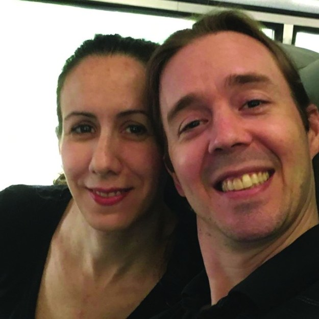 Laurie Draegeth, left, and her husband, Trevor. Laurie was found dead in their Oro Valley home the morning of Tuesday, Feb. 12. - LAURIE DRAEGETH FACEBOOK