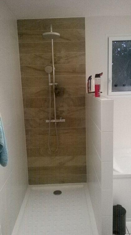 quelle hauteur pour une paroi de douche