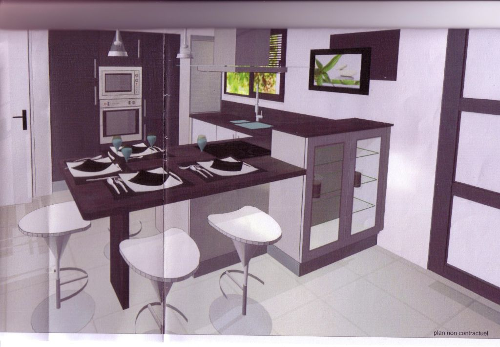 plan amenagement cuisine 10m2