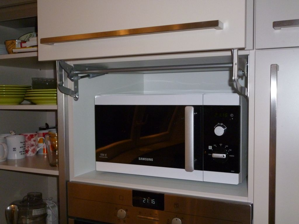 meuble haut pour micro onde integrable