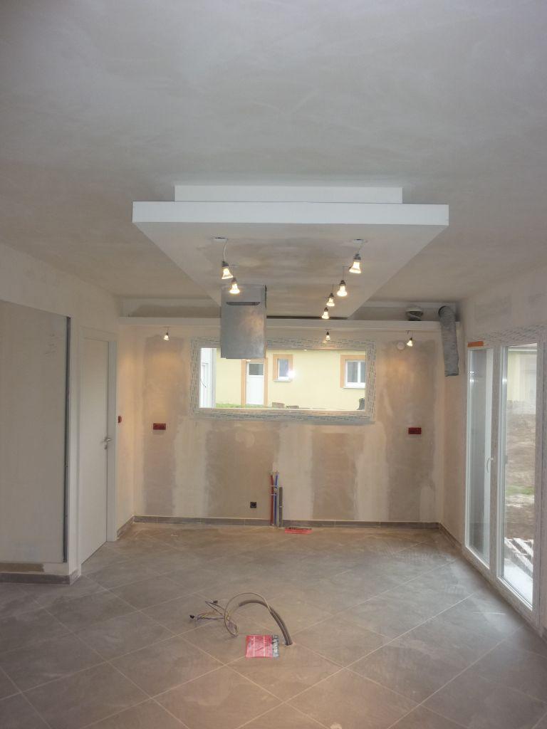Spot Lumineux Plafond spots lumineux pour faux plafond pl tre decoration plafond le plafond