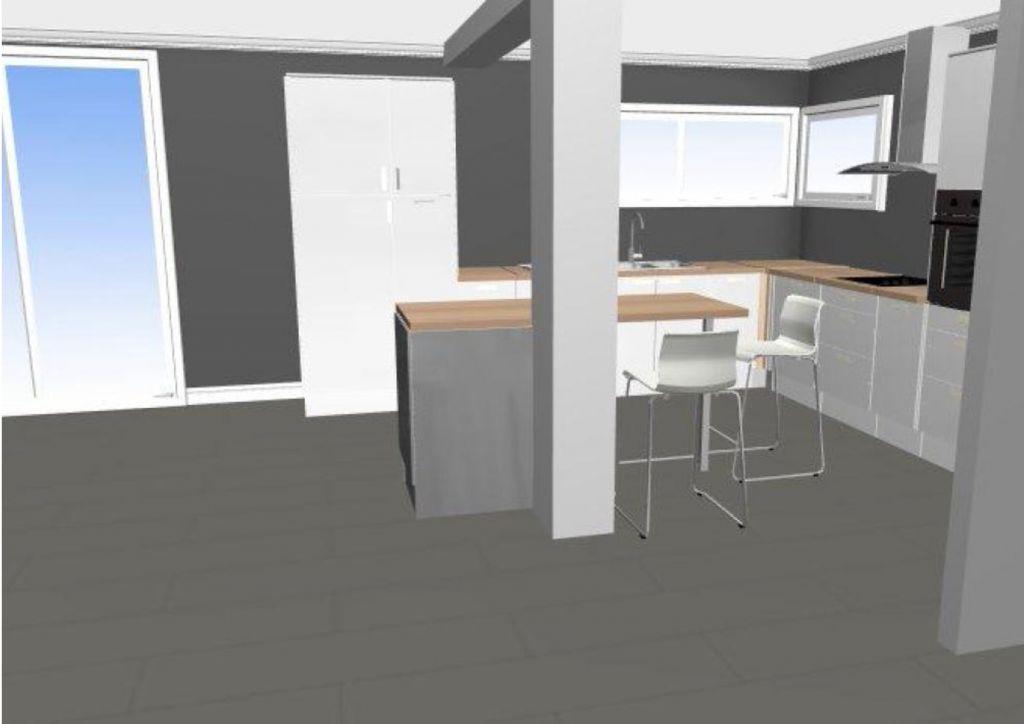 Ikea Cuisine En 3d
